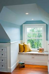 window seat nook